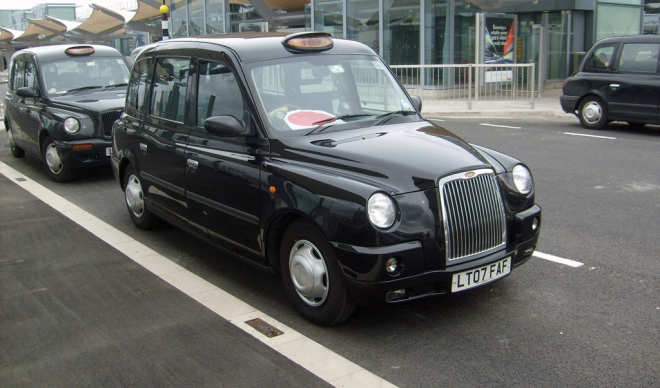 Taxi am London Heathrow Airport
