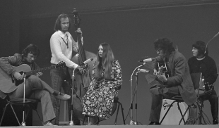 """Die britische Folk-Rock-Gruppe Pentangle (1969)"""