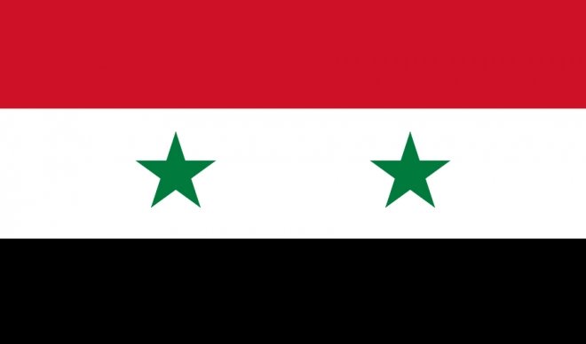 Flagge Syriens